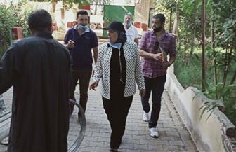 """سكرتير عام مساعد الغربية تتفقد تجهيز المقار الانتخابية بالسنطة استعدادا لانتخابات """"الشيوخ""""  صور"""
