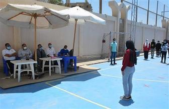 بدء اختبارات القدرات بـ«التربية الرياضية» في جامعة الفيوم | صور