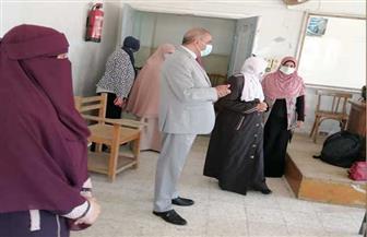 رئيس جامعة الأزهر يتفقد لجان امتحانات الدراسات العليا بكلية الدراسات الإسلامية والعربية للبنات| صور