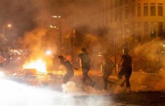 تجدد الاشتباكات بين المحتجين وقوات الأمن في وسط بيروت