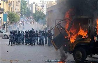 تفاصيل 48 ساعة تظاهرات في لبنان.. استقالة وزيرة الإعلام ومحاولة لاقتحام البرلمان