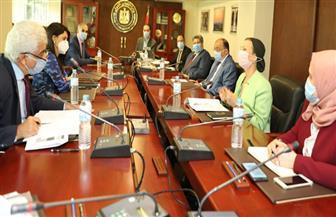 وزراء التعاون الدولي والتنمية المحلية والبيئة يناقشون مصادر التمويل الدولية لمنظومة تحويل المخلفات إلى طاقة