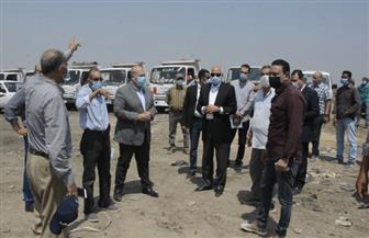 ضبط مخالف يستخدم مقلب «أبو رواش بكرداسة» في فرز المخلفات وإشعال المتبقي منها| صور