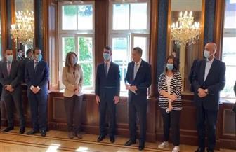 سفارة مصر بفيينا تكرم السفير عمر عامر بحضور غادة والى| صور