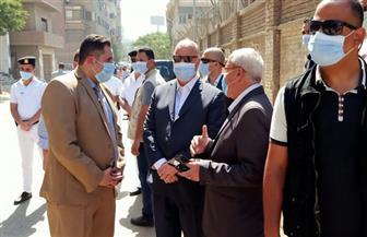 محافظ القاهرة يشهد إزالة مخالفة بناء في الشرابية وشاشة لعرض ذلك لأول مرة   صور