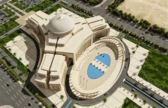آخر تطورات إنشاء مبنى البرلمان الجديد فى العاصمة الإدارية