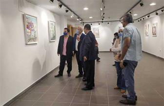 """رئيس صندوق التنمية الثقافية يتفقد معرض """"إيقاعات نوبية"""""""
