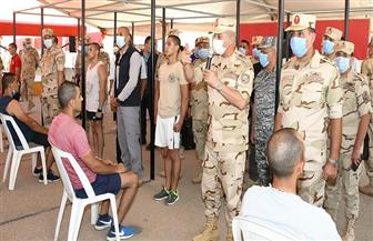 الفريق أول محمد زكي خلال تفقد إجراءات القبول بالكليات العسكرية: تقدم عدد كبير ثقة في القوات المسلحة