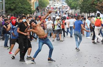 """مظاهرة في ساحة الشهداء تحت عنوان """"غضب لبنان الكبير"""""""