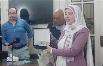 رانيا اللبودي: اسم خيري شلبي على الجائزة قيمة كبيرة.. وآراء لجنة التحكيم دفعة لي