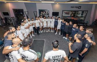 منتخب اليد يخوض مرانه الأول في معسكر الغردقة استعداد لبطولة العالم |صور