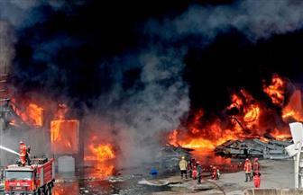 نجوم وإعلاميو لبنان يغضبون من جديد بعد الحريق المتجدد بمرفأ بيروت  صور
