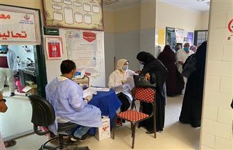 الكشف على 1350 مواطنا في قافلة طبية بدمياط| صور