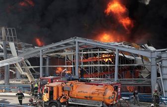 الرئيس اللبناني: يجب معرفة سبب حريق مرفأ بيروت ومحاسبة المسببين