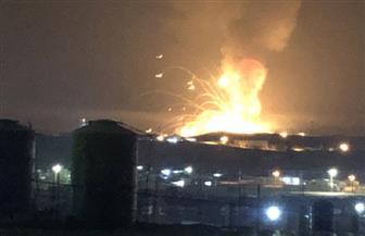 انفجار بمستودع قنابل للقوات المسلحة الأردنية شرق الزرقاء