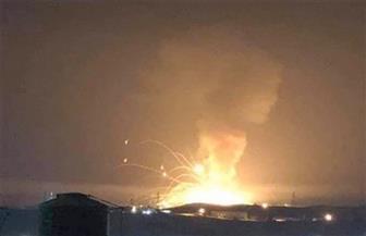 انفجار مستودع ذخيرة للجيش الأردنى  شرقي مدينة الزرقاء