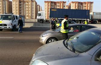 ضبط 511 مخالفة مرورية حصيلة حملة على الطرق بالغربية