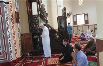 سكرتير عام الغربية يفتتح مسجدا فى قطور بعد تطويره بالجهود الذاتية | صور