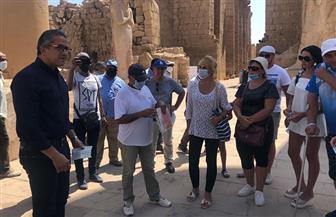 وزير السياحة والآثار يتفقد معبد الكرنك بمحافظة الأقصر.. ويؤكد: السياحة هي أفضل وسيلة للتقارب بين الشعوب | صور