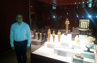 وزير السياحة يفتتح معرض مقتنيات توت عنخ آمون بمتحف الغردقة | صور