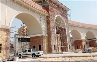 إنشاء بوابة جديدة بمدخل مدينة المحلة | صور