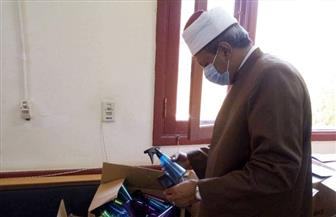 رئيس منطقة الأقصر الأزهرية يتفقد أعمال امتحانات الدور الثاني للشهادة الثانوية | صور