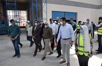 الانتهاء من 95% من إنشاء بازار بورسعيد الجديد وتطوير 16 سوقا آخر بالمحافظة | صور