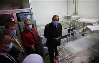 محافظ كفر الشيخ يفتتح العناية المركزة بالهلال الأحمر | صور