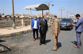 محافظ كفر الشيخ يقود حملة إزالة إشغالات | صور