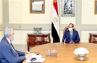 الرئيس السيسي يوجه باستخلاص الدروس المستفادة من تجربة مصر لمكافحة كورونا منذ اندلاعها عالميا