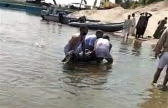 غرق شاب في مياه نهر النيل غرب محافظة الأقصر | صور