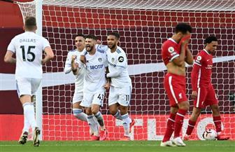 ليدز يسجل هدفا ثالثا في شباك ليفربول