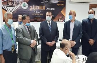 نقيب المهندسين ورئيس الاتحاد يفتتحان بطولة كأس مصر للشطرنج