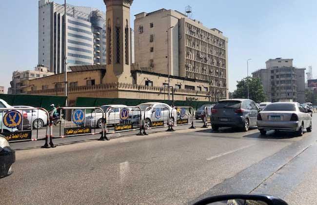 كثافات مرورية متوسطة بشوارع وميادين العاصمة صباح اليوم