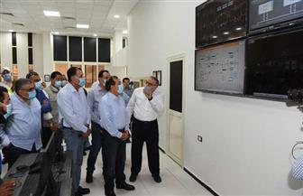 وزير البترول يتفقد خط السخنة – التبين الجديد لنقل المنتجات البترولية| صور