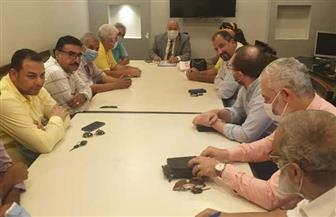 رئيس جهاز الشيخ زايد يلتقى سكان المدينة للرد على أهم الاستفسارات بشأن التصالح فى مخالفات البناء|صور