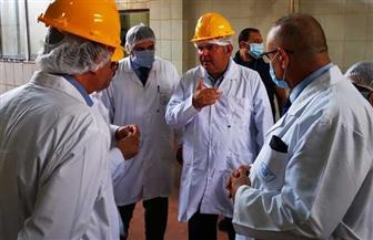 وزير قطاع الأعمال العام يوجه بالاستعانة باستشاري عالمي لتحديد احتياجات تطوير النصر للأدوية | صور