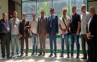 """وفد """"عمال بيروت"""" يشكر القيادة السياسية المصرية على مساندة لبنان في مواجهة أزمة الـ""""مرفأ""""  صور"""