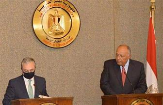 شكري: مصر تدعم التوصل لحل سلمي بين أرمينيا وأذربيجان