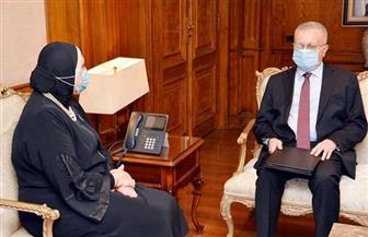 وزيرة التجارة والصناعة تبحث مع سفير روسيا بالقاهرة سبل تعزيز التعاون الاقتصادي | صور