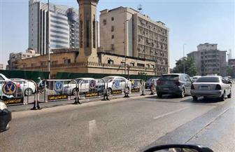 النشرة المرورية للعاصمة.. كثافات مرورية متوسطة بعدد من المحاور | صور