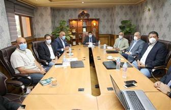 وزير الرياضة يتابع مع اللجنة المنظمة استعدادات بطولة العالم لكرة اليد | صور