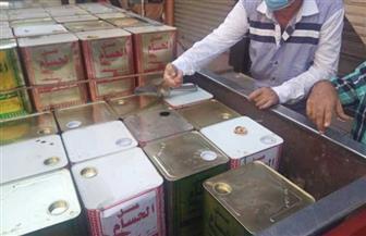 ضبط 4 أطنان عسل أسود ودقيق مدعم في حملة تموينية في بورسعيد