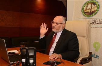 رئيس جامعة الأزهر السابق لمتدربي ليبيا: بناء الأوطان يستلزم التحلي بالأمانة والشجاعة | صور
