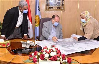 محافظ أسيوط يعتمد خرائط المخطط الاستراتيجي لمدينة صدفا   صور