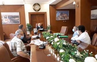 محافظ بورسعيد يستعرض الموقف التنفيذي لإنشاء مركز الرباط الطبي تمهيدا لافتتاحه أكتوبر المقبل