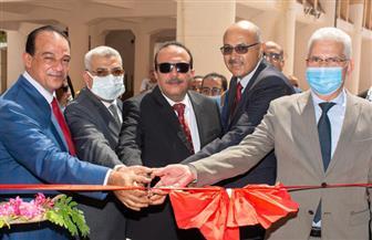 رئيس جامعة طنطا يفتتح المبنى التعليمي الجديد لكلية التربية النوعية| صور