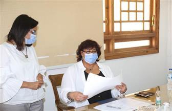 وزيرة الثقافة تتسلم شهادة تسجيل منظمة اليونسكو ملف النخلة بالقائمة التمثيلية للتراث الإنساني   صور