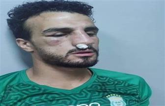 محمود رزق لاعب الاتحاد يجري جراحة في الأنف