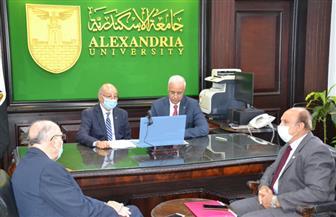 وزير الاتصالات ورئيس جامعة الإسكندرية يشهدان توقيع اتفاقية تعاون لتنفيذ مشاريع بحثية مشتركة| صور